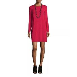 Eileen Fisher Long Sleeve Tunic Dress size Small